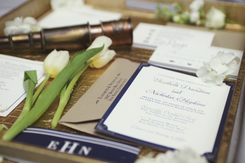 Grand Rapids Wedding Planner, Designer and Florist - Nautical Wedding