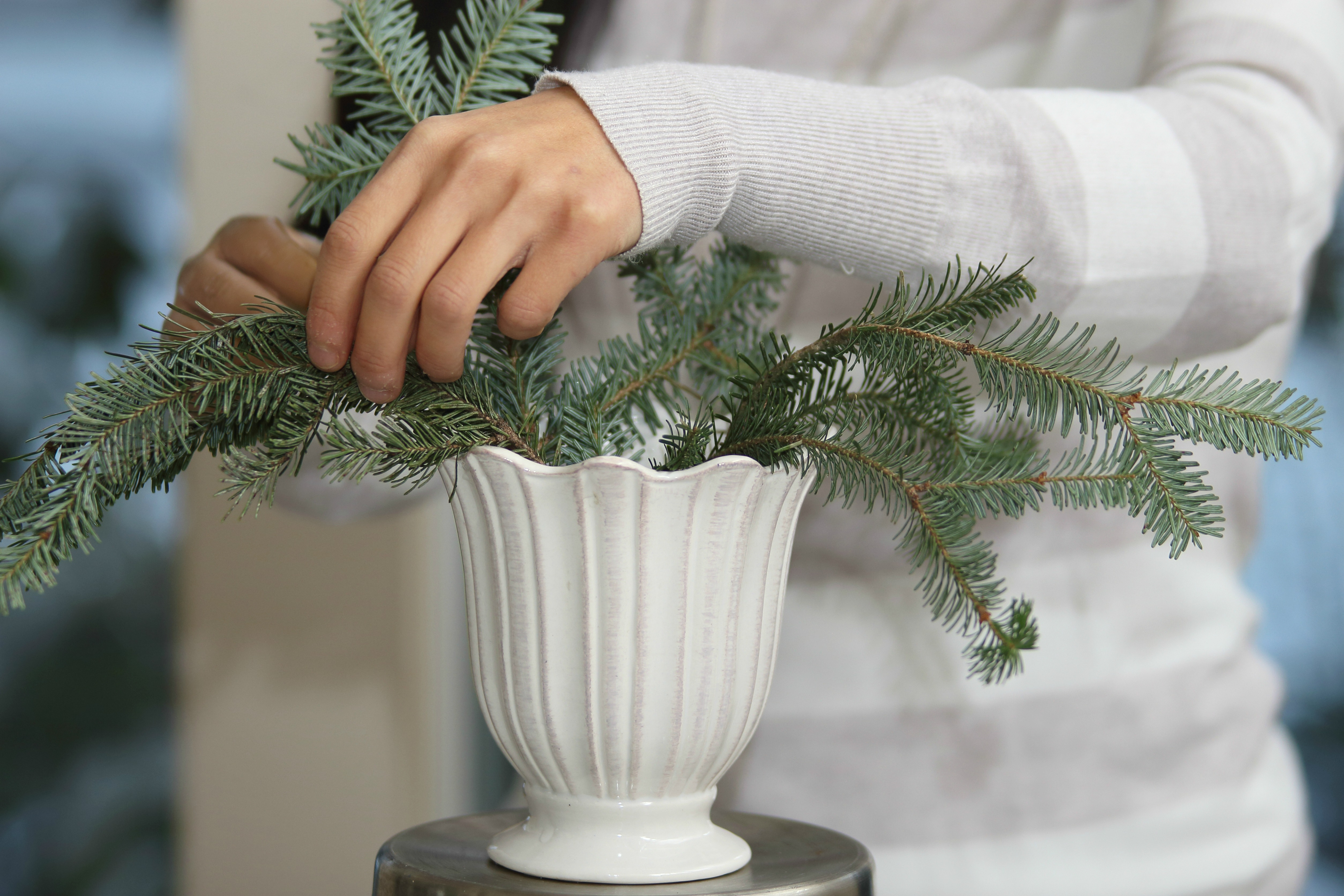 DIY Christmas Arrangement - js weddings and events