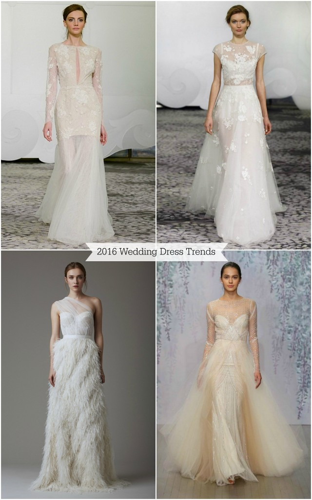 Wedding Dress 2016 trends