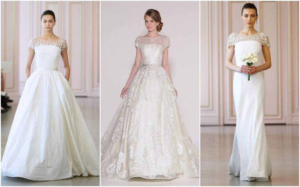 Wedding Dress 2016 trends - Short Sleeves