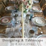 Designing A Tablescape