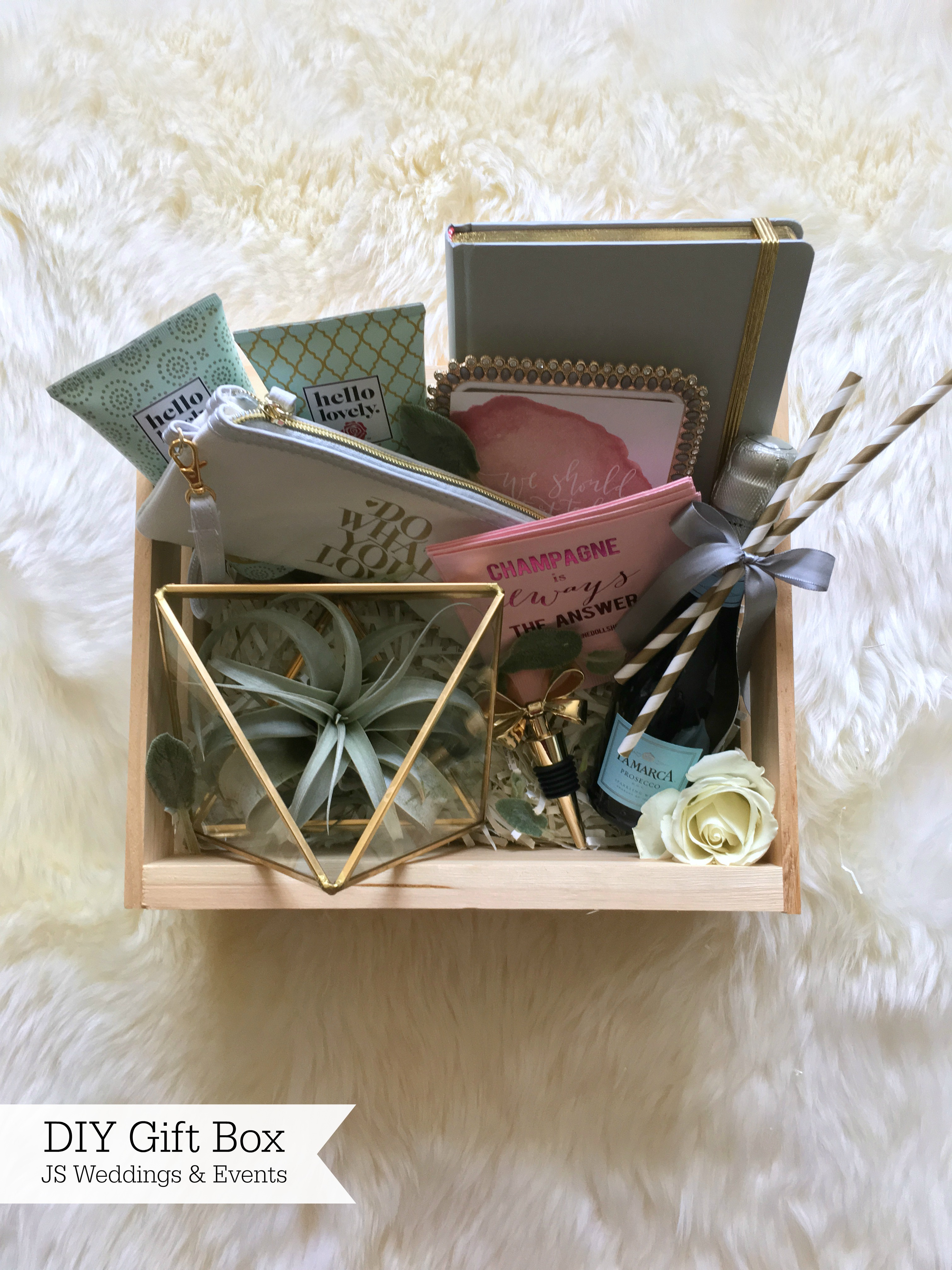 JS Weddings and Events Grand Rapids Wedding Planner and Floral Designer - DIY Bridesmaid Gift 13