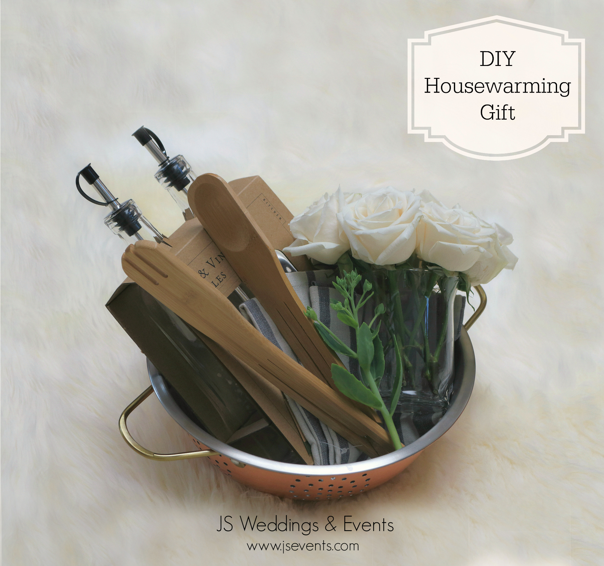 JS Weddings and Events, Grand Rapids Wedding Planner and Floral Designer - DIY Housewarming Gift, Newlywed Wedding Gift