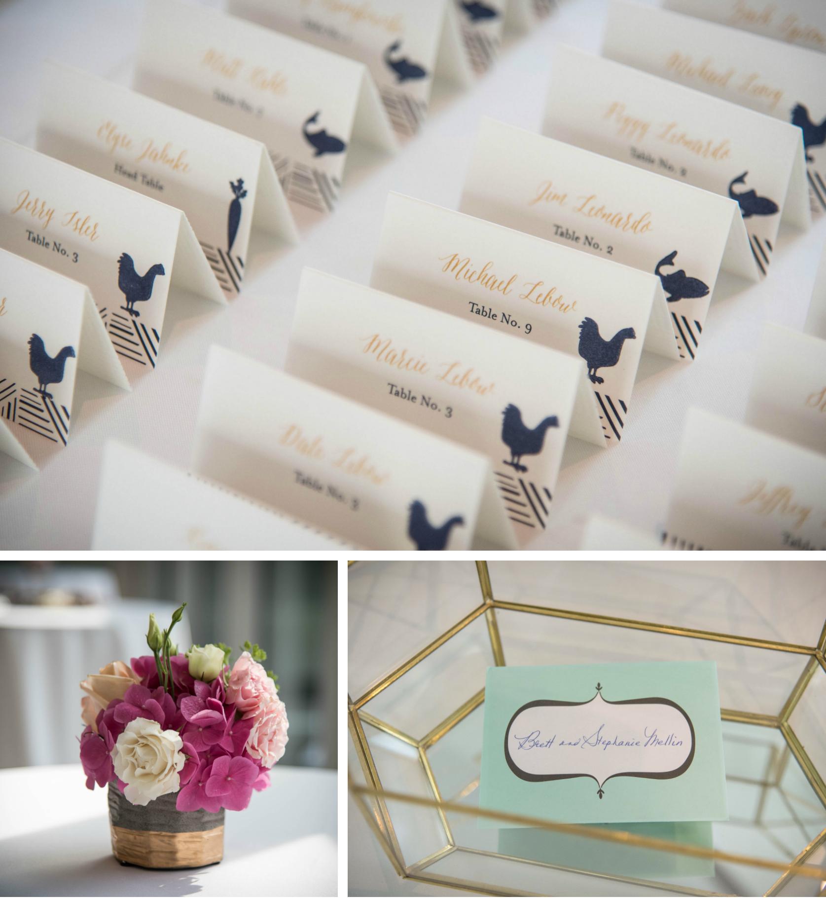 JS Weddings and Events, Grand Rapids Wedding Planner and Floral Designer - Grand Rapids Art Museum Midcentury Modern Wedding