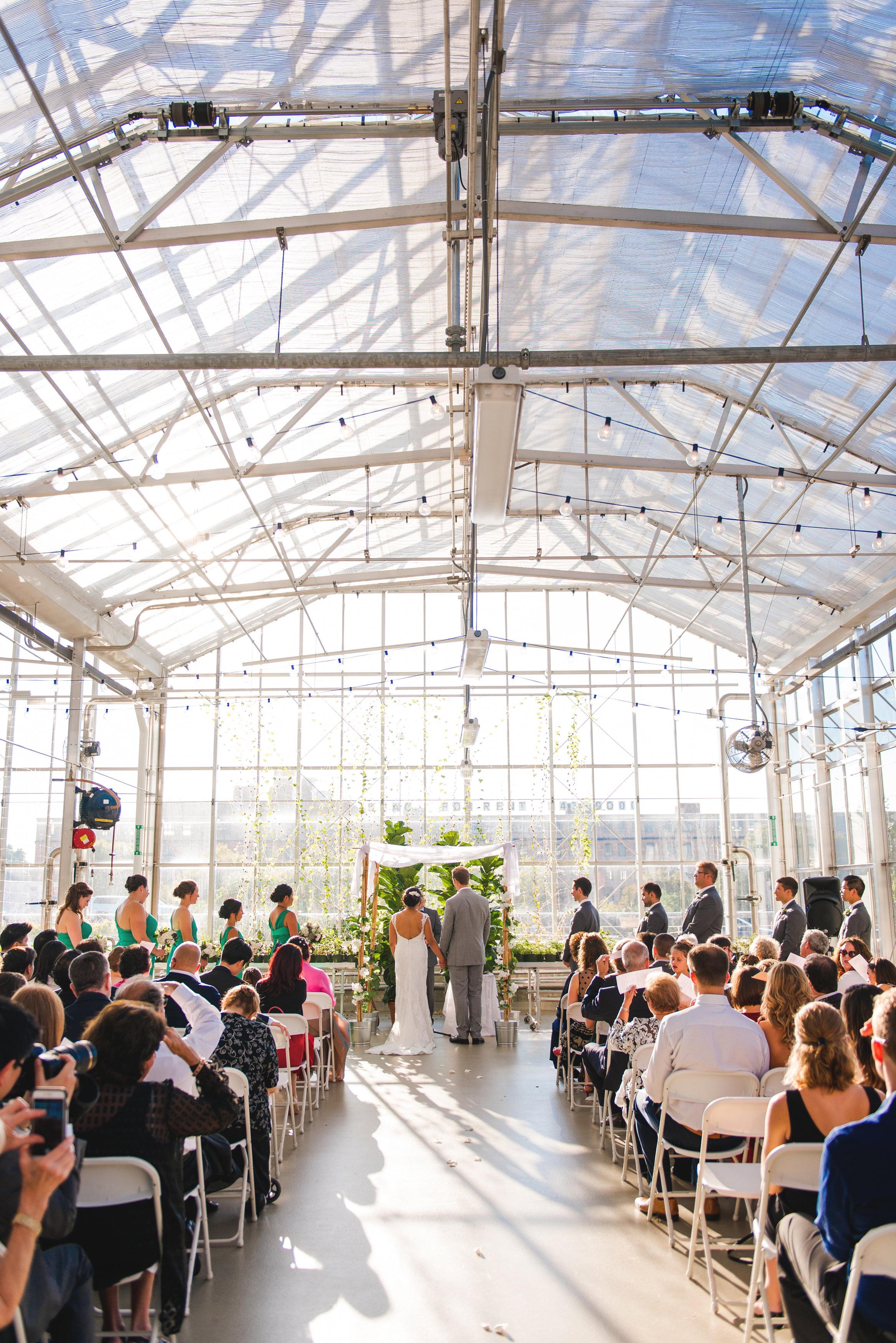JS Weddings & Events, Grand Rapids Wedding Planner and Floral Designer - Grand Rapids Downtown Market Natural Greenhouse Conservatory Wedding