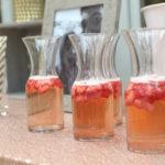 Strawberry Rosé Sangria
