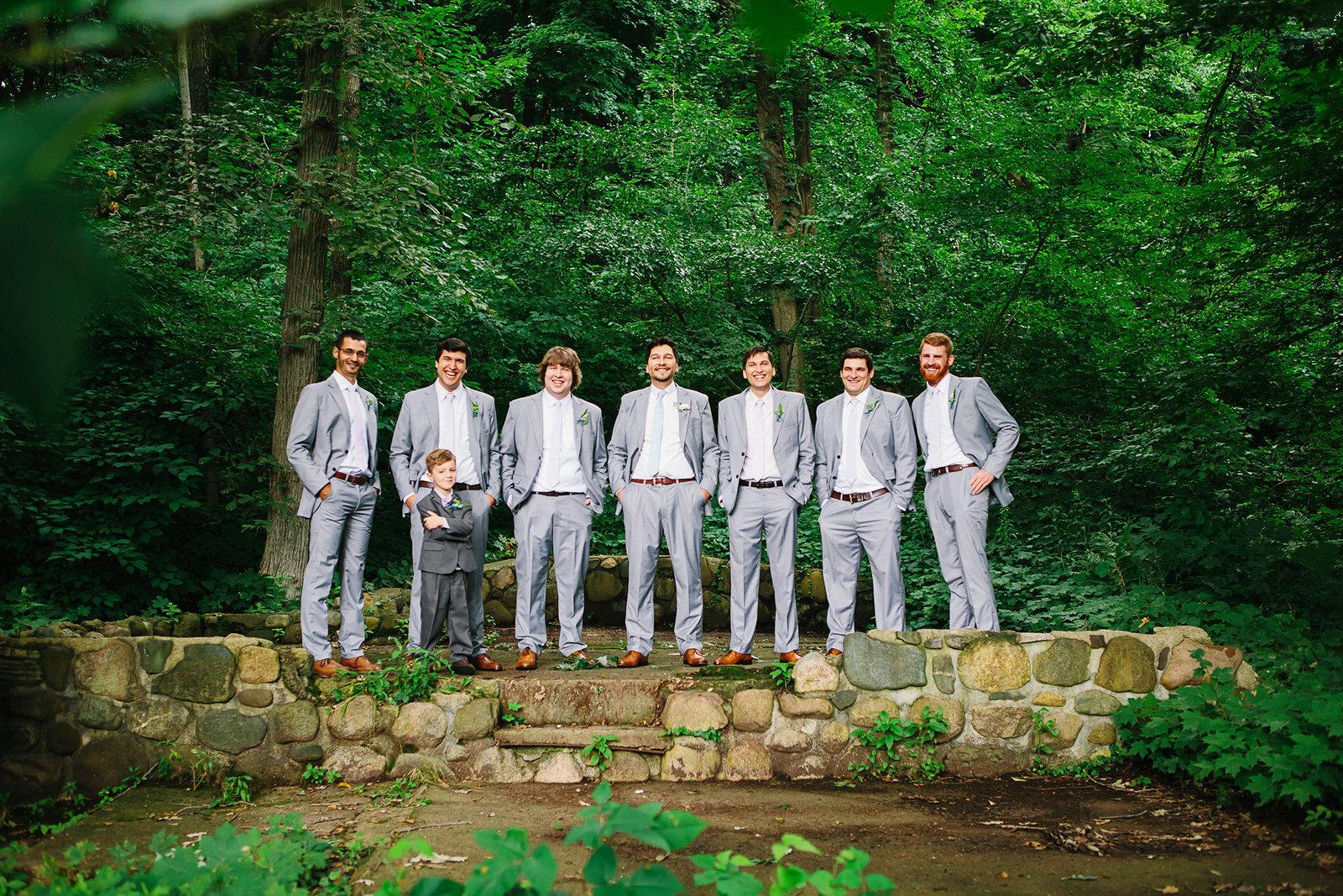 JS Weddings and Events, Grand Rapids Wedding Planner and Floral Designer - Johnson Park Midsummer Nights Dream Summer Garden