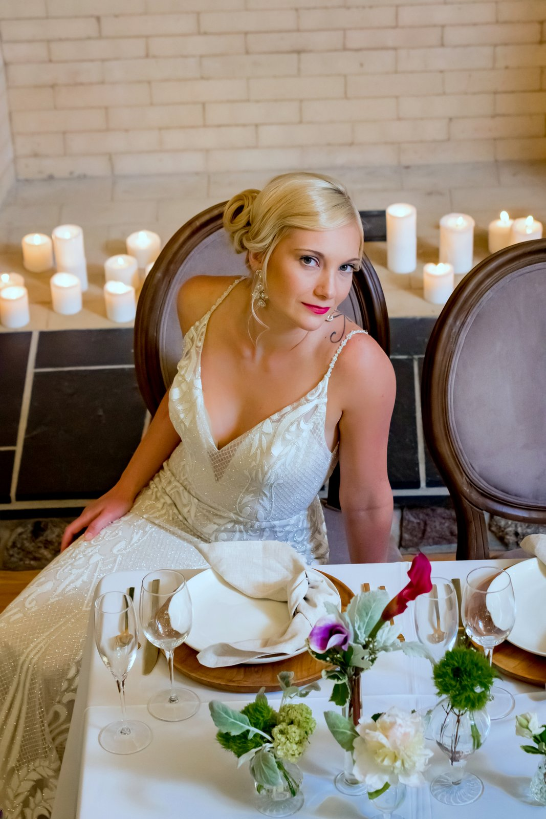 JS Weddings and Events, a Michigan and Mid West Wedding Planner. An earthy al fresco wedding style shoot with natural and organic elements.